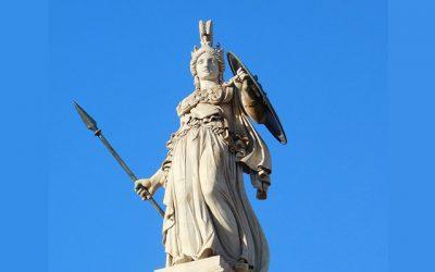 El mito de Atenea resumen corto
