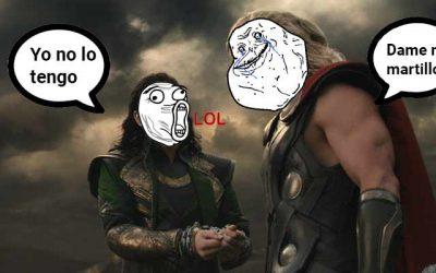 Thor y Loki: El Robo del Martillo (Mjollnir)