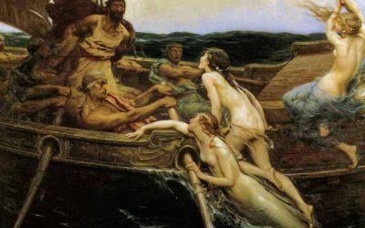 Mito de Odiseo y las sirenas