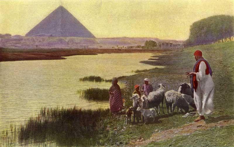 Mito de la creación Egipcia del hombre