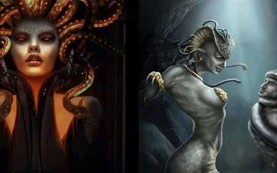 Mito de Medusa y Poseidon