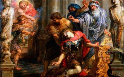 La muerte te Aquiles: el más grande héroe griego